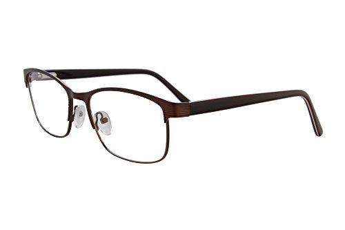 SHINU Anti Blue Light Eyewear mit Feder-Scharnier-Rahmen Angepasst Rezept Myopie Brille fur Frauen / Manner-6616 (Brille Männer Rezept)