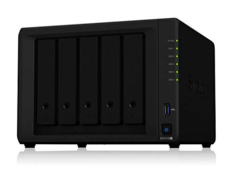 Synology DS1019 + 5 Bay Desktop NAS-Gehäuse