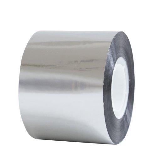Profi Aluminium-Klebeband 50 m x 50 mm Aluband Alubedampft PP-Band Isolierband Abdämmung Abdichtung Tape Aluminiumband Aluklebeband Silber