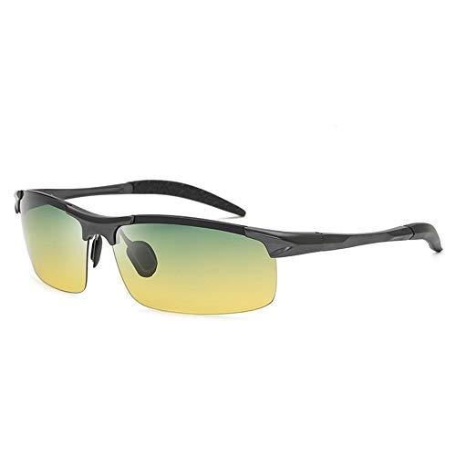 Herren-Sonnenbrille mit Fahrerbrille Polarisierte Aluminium-Magnesium-Sonnenbrille for Outdoor-Sportlerinnen Brille (Color : 3)