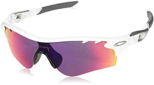 Oakley Herren Radarlock Path 918140 0 Sonnenbrille, Weiß (Polished White/Prizm Road), 38