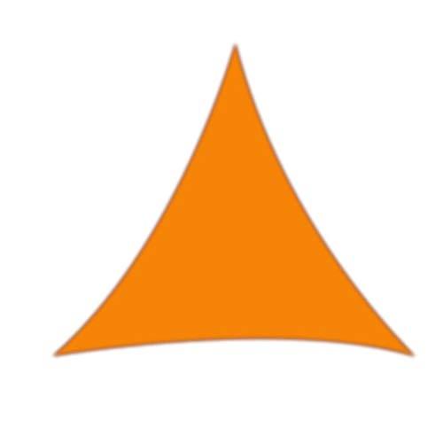 LACKINGONE Pare-Soleil Durable pour Jardin terrasse et auvent 98% Anti-UV Orange