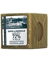 La Corvette Cube de Savon de Marseille Olive Ecocert Film 500 g