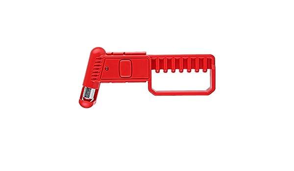 A0127 2 in 1 auto di emergenza sicurezza martello di fuga rompivetro strumento di taglio