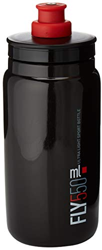 Elite Fly Borraccia, Rosso, 550 ML