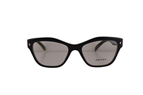 Prada PR27SV Eyeglasses 51-17-140 Gray Yellow UR01O1 VPR27S For Women (FRAME ONLY)