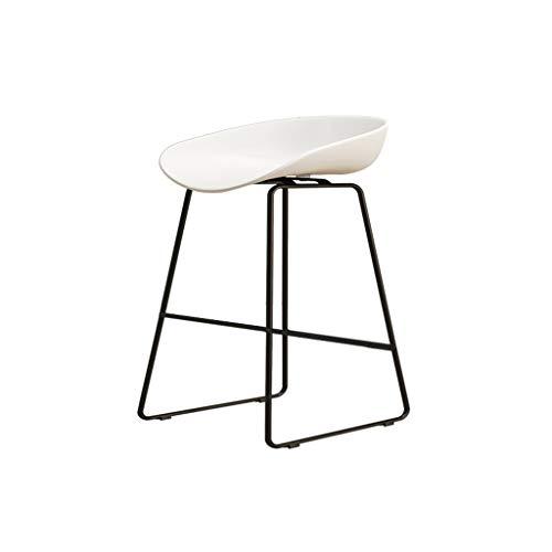 Eisen Barhocker Industrial Style für Küche und Restaurant Barhocker Sitzhöhe 75 cm / 65 cm / 45 cm Weiß - Barhocker Eisen