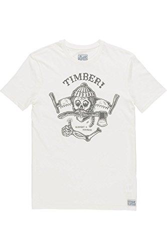 Element All Good T-Shirt Weiß