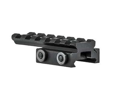 """6 Slots 0.5"""" Low Profile Picatinny Rail Bridge Mount BM0605 by Lion Gears"""