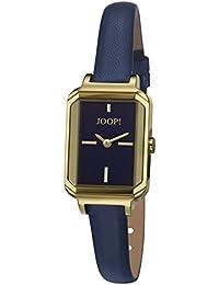 Joop! Damen-Armbanduhr Adele Analog Quarz Leder JP101662007