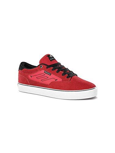 Emerica - The Jinx 2, Scarpe da skateboard da uomo Rosso (Red)