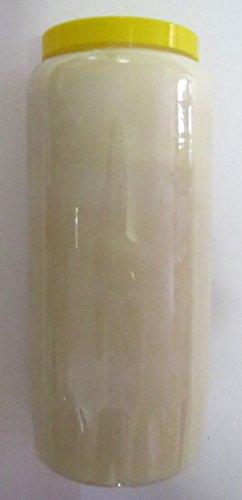 St. Jakob´s 20 Ewiglichtölkerzen, 100{75bf772da60e8b40b76231fbf7cd84c8db3786d25d97876dd41691b8f5d8de05} reines Öl, Grabkerzen, Grablichter, Öllichter, 7 Tage, Farbe: rot und weiß (Weiß) für Grablaterne, Grablampe, Grableuchte zur Grabgestaltung