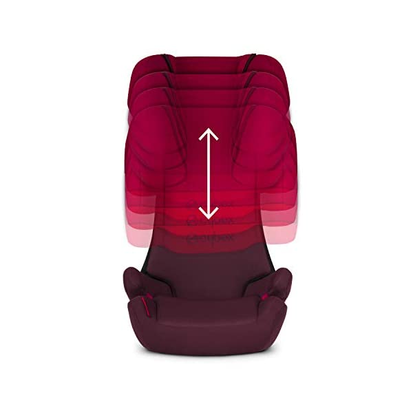 CYBEX Silver Solution X-Fix Child's Car Seat, For Cars with and without ISOFIX, Group 2/3 (15-36 kg), From approx. 3 to approx. 12 years, Cobblestone Cybex Sturdy and high-quality child car seat for long-term use - For children aged approx. 3 to approx. 12 years (15-36 kg), Suitable for cars with and without ISOFIX Maximum safety - 3-way adjustable reclining headrest, Built-in side impact protection (L.S.P. System) 11-way adjustable, comfortable headrest, Adjustable backrest, Comfortable seat cushion 2