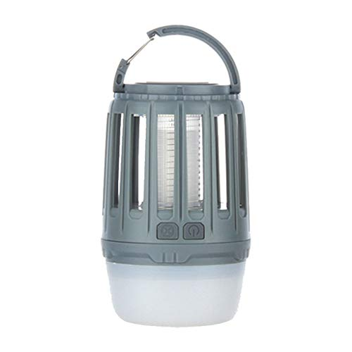 Emergency Lantern (LCLrute Premium Camping Lights with Bug Zapper Mosquito Repellent Function,a IP67 Waterproof USB Rechargeable Camping Lantern for Hiking,Camping,Backpacking,Fishing,Emergency (Grau))