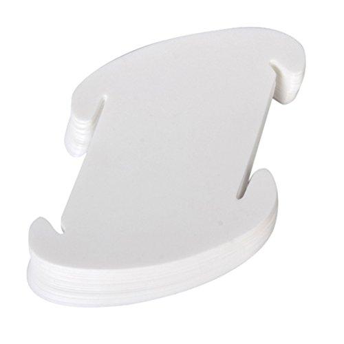 VORCOOL Lampenschirm Decke-Anhänger DIY IQ-Jigsaw Puzzle Lampe Shade Kit - Größe L ( weiß )