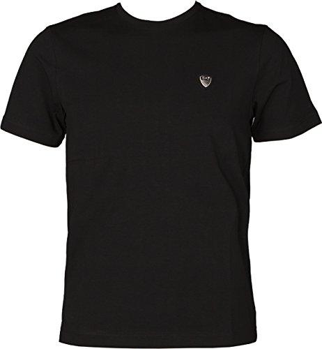 EA7 Emporio Armani Man Jersey Tshirt 6YPTL7PJ20Z-1200 Herren T-Shirt (L, Black) (Emporio Armani-jersey-t-shirt)