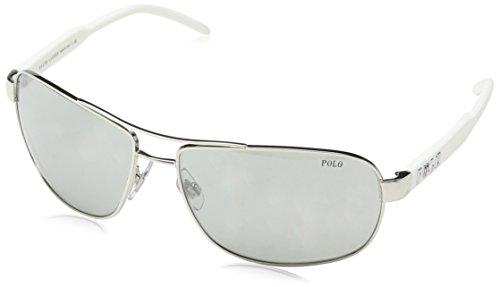 POLO 0PH3053 90018V, Montures de Lunettes Homme, Argenté Mirror Silver, 64 21279f95fc5e