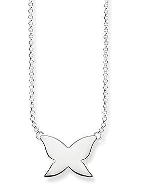 Thomas Sabo Damen-Collier Glam & Soul 925 Sterling Silber Länge von 38 bis 42 cm KE1481-001-12-L42v