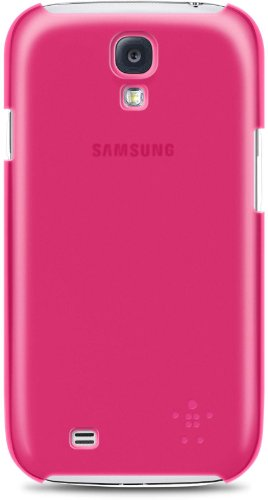 Belkin Shield Sheermatte Case (geeignet für Samsung Galaxy S4) rosa - Sheer Fuchsia