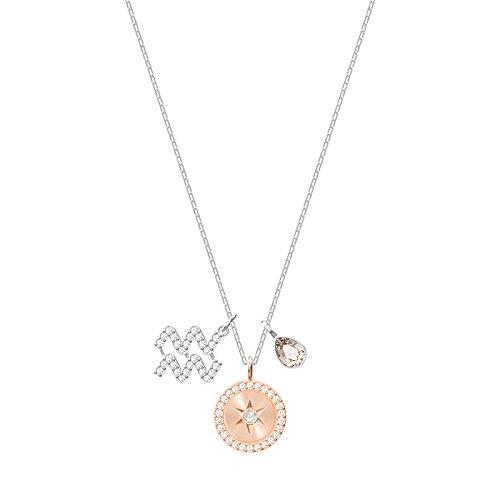 Swarovski collana con ciondolo donna placcato_argento - 5349213