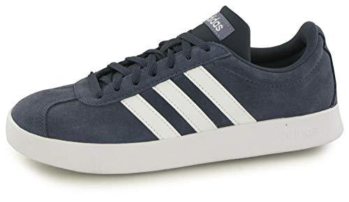 adidas Originals VL Court 2.0 Sneaker Damen blau/weiß, 6 UK - 39 1/3 EU - 7.5 US