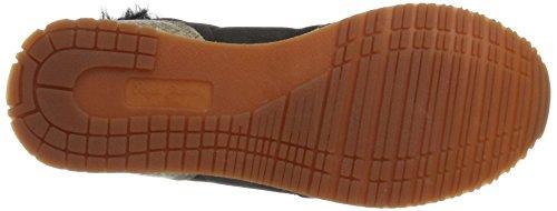 Pepe Jeans London Gable Fur Bootie, Sneaker A Collo Alto Donna Oro (mezcla)