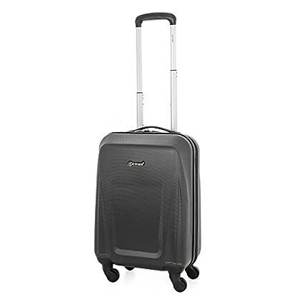 31lC6kcd0KL. SS416  - 5 Cities de Carry Ligera ABS duro viaje Shell En la cabina de equipaje de mano Maleta con 4 ruedas, aprobados por Ryanair, Easyjet, British Airways, Jet2, Monarch (3PCS)