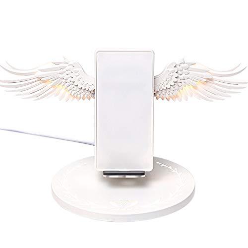 Angel Wings Wireless Ladestation Dock QI Fast Charging Wireless Nützlicher Ständer für Samsung, Andriod, Huawei, Alle Telefone -