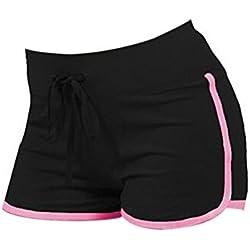 LAAT Pantalones Cortos de Yoga Mujeres Corriendo Pantalones Cortos Pantalones Cortos de la Playa de la Yoga