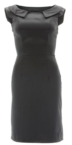 H&R London -  Vestito  - Donna Nero
