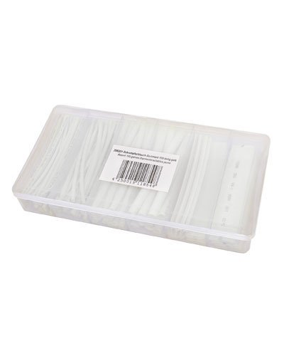 Schrumpfschlauch Schrumpfen Sortiment 100 Stück Transparent