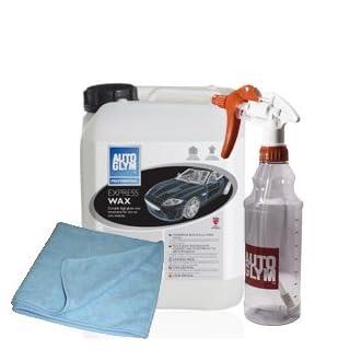 Autoglym Express Wax 5 Litre with Free Spray Bottle