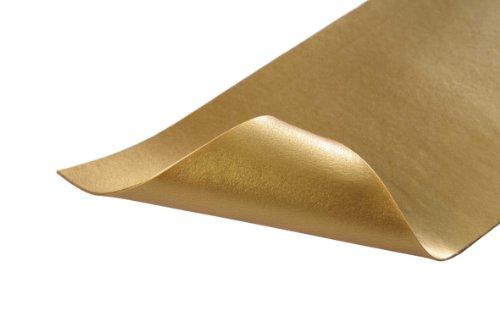 Stockmar Wachsfolien - Einzelfarben - 12 Folien 200x40x0,9 mm, Gold
