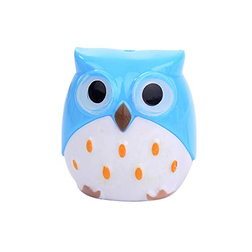 Teabelle cartoon owl forma temperamatite scuola studenti stationery office supplies gift blue