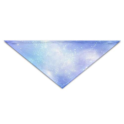 BigHappyShop Aurora Stars Pet Scarf Dog Neckerchief Puppy Triangle Triangle Bibs Scarfs for Pet Dogs