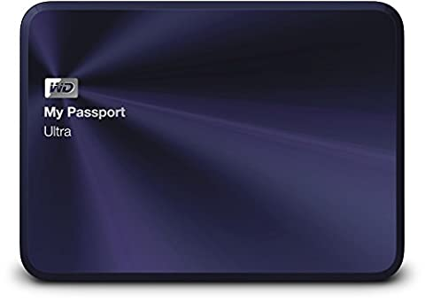 Western Digital My Passport Ultra Metal Edition Disque dur externe portable 2,5