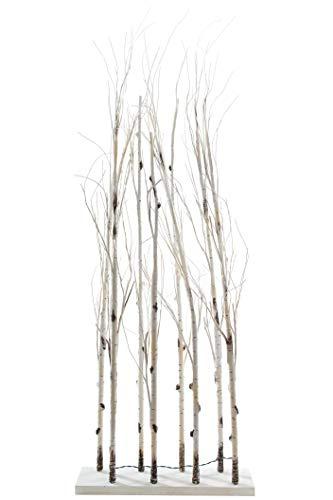 *elbmöbel LED Raumteiler Baum weiss LED Weihnachten Weihnachtsbaum Christmas beleuchtung (mittel)*