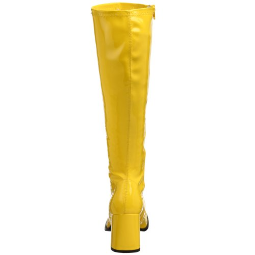 Funtasma - GOGO-300, Scarpe a collo alto da donna Giallo (Yellow)