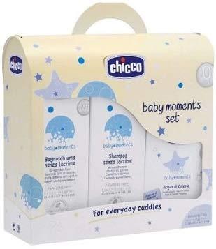 Chicco CF Trial Set bagnosc.200ml + Shampoo200ml + colonia100ml -