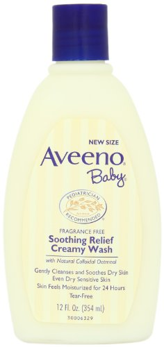 Aveeno Baby Soothing Relief Cream Wash, 12 Ounce by Aveeno Baby