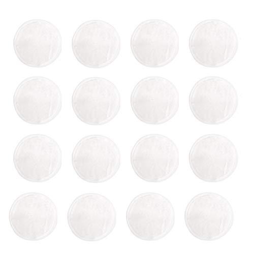 Almohadillas de bambú para quitar maquillaje, 16 paquetes reutilizables sin productos químicos, toallitas de limpieza con bolsa de malla para quitar maquillaje de ojos, limpieza facial