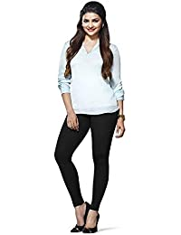 LUX LYRA Women's Cotton Ankle Length Leggings