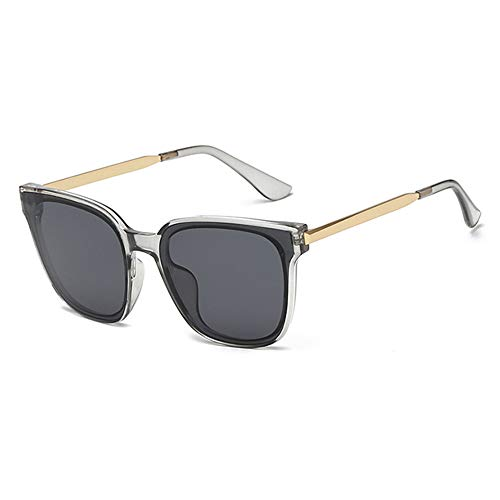 Pig pecs Unisex Mode Polarisiert Oversize Sonnenbrille,Gläser,UV400 Schutz,100% UV-Schutz,Acetat-Rahmen,Ideal zum Autofahren Angeln Städtetouren,E