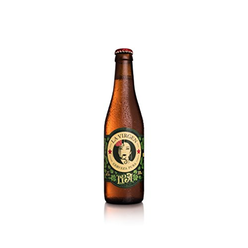 La Virgen Cerveza Artesana IPA - pack 24 botellas x 330 ml - Total: 7920 ml