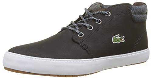 Lacoste Herren Ampthill Terra 318 1 Cam Sneaker, Schwarz (Blk/Gry 231), 47 EU