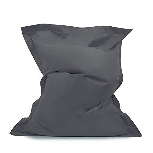 Pouf Poire géant - Pouf Poire intérieur / extérieur imperméable à 100% (gris)
