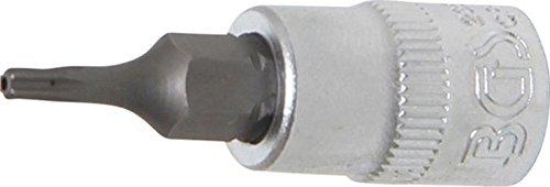 BGS 2356 Douille à embouts Tamper-Torx TT8, Argent/gris