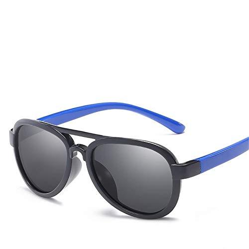 Kinder Sonnenbrillen Silikon Brille Outdoor Seaside Sonnencreme UV400 Polarisierte Sonnenbrillen Neue Mode Trendy Polarisierte Sonnenbrillen Blenden Farbe Verhindert UV-Strahlen Sonnenbrille Sonnenbri