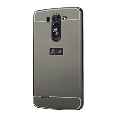 Housse Lg G3s - Tianyan Coque LG G3s Aluminium Métal Bumper