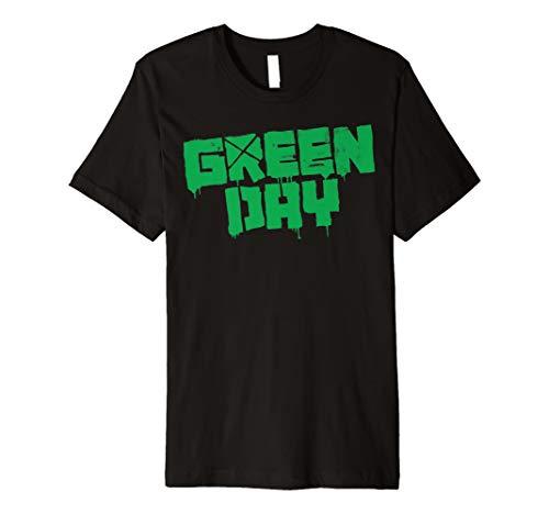 Green Day: Band Logo Short Sleeve T-Shirt - Anvil Short Sleeve T-shirt